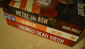 The Dead Mech Trilogy: Dead Mech, The Americans & Metal and Ash
